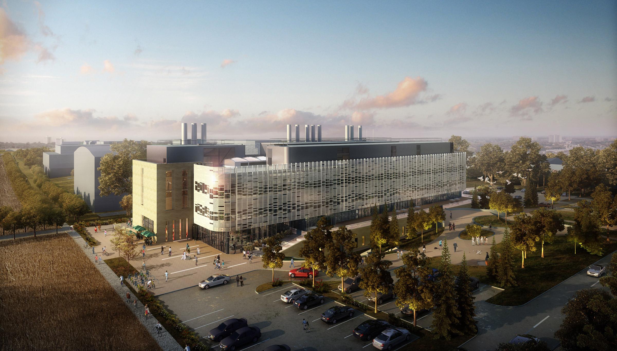 Conception d'un nouveau centre de recherche par NBBJ