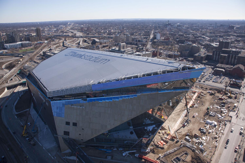 l'US Bank Stadium sera prêt pour la saison NFL 2016