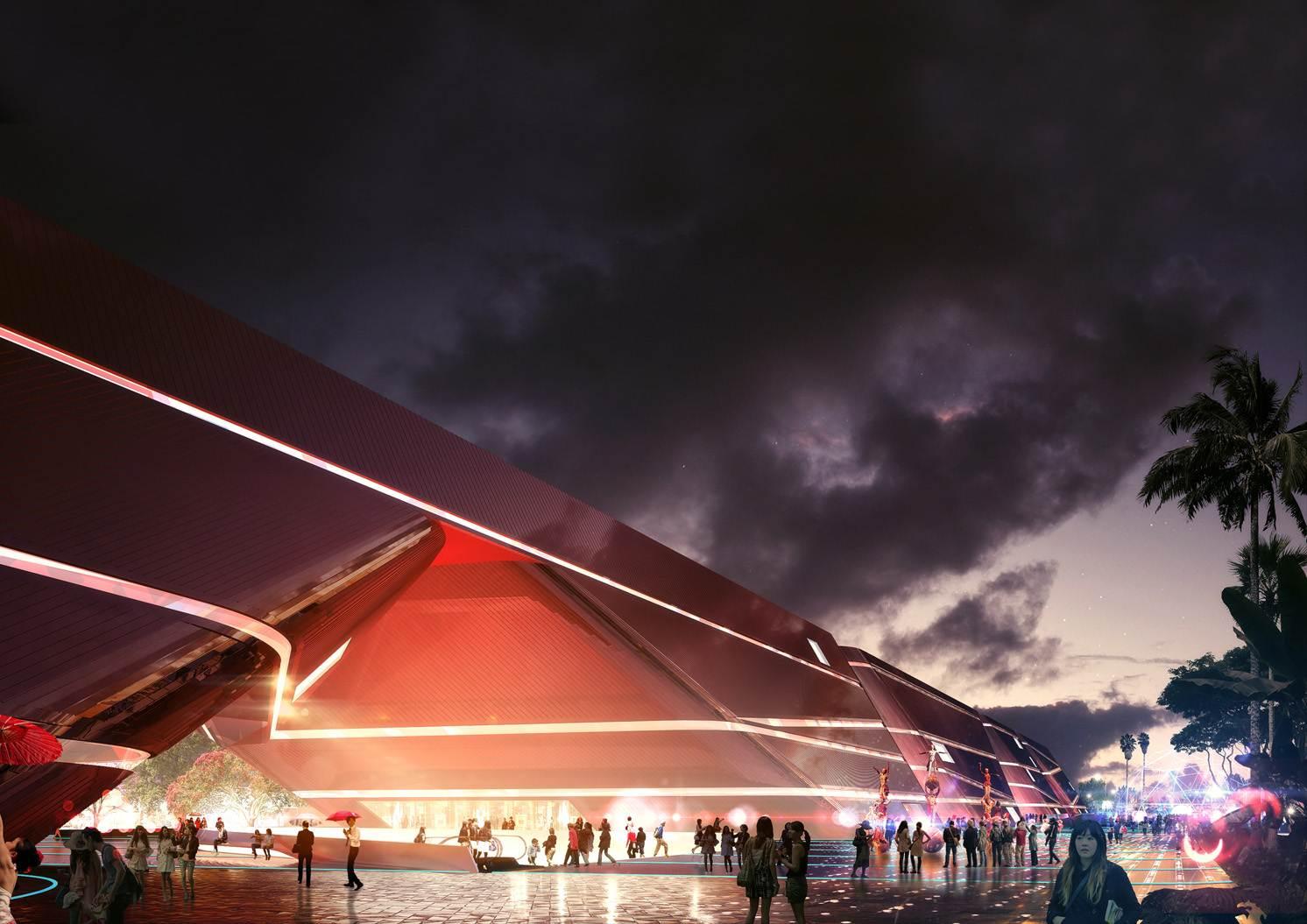 La structure du Centre Culturel de Shenzen bientôt achevée