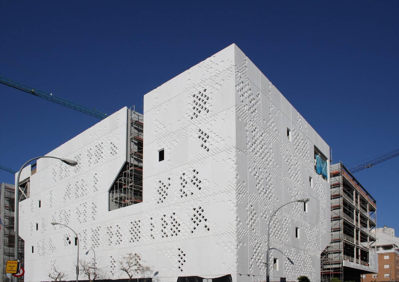 La construction du Palais de justice de Cordoue avance