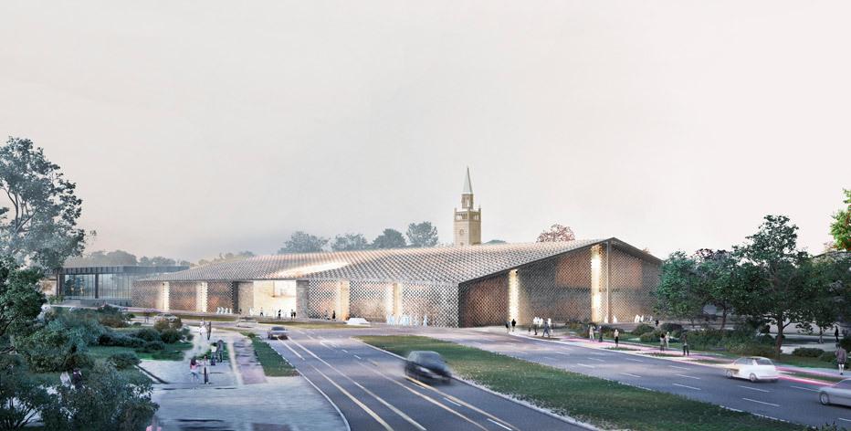 Herzog & de Meuron gagnent la première Place à New Neue Galerie Building Competition