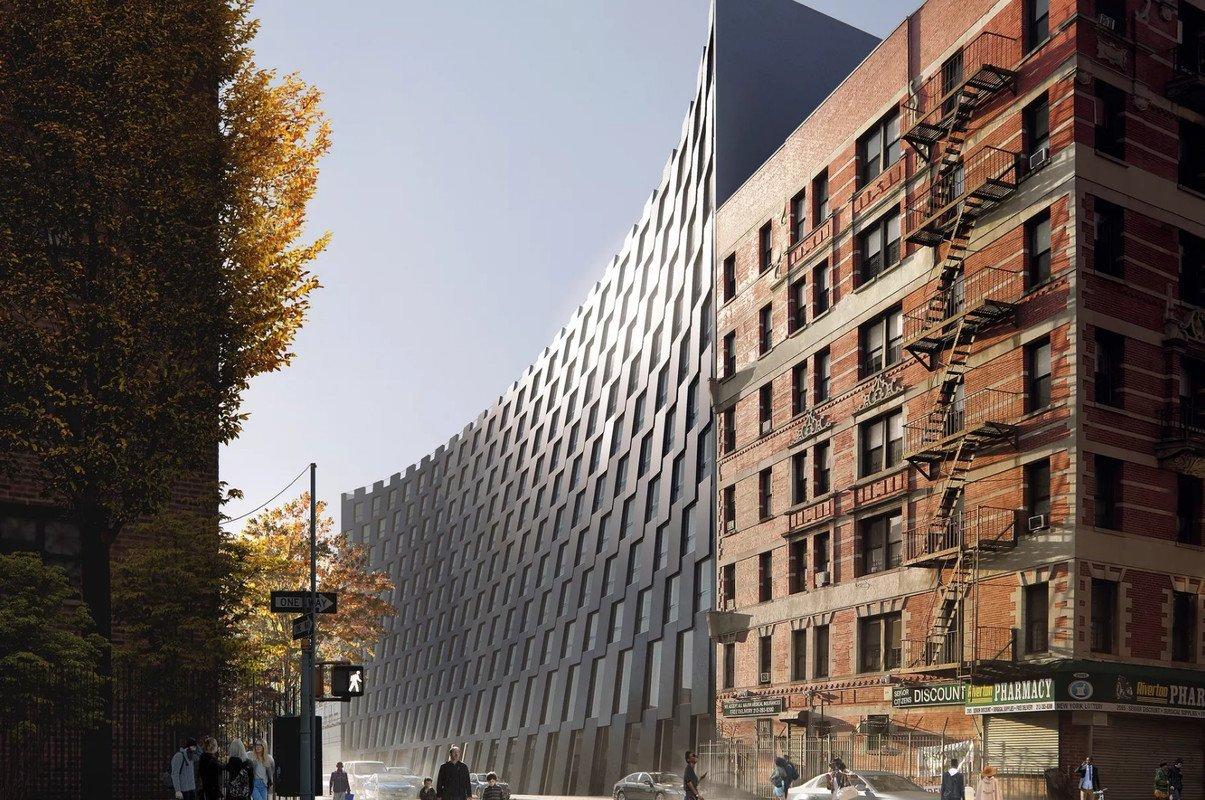 Conception finale pour le projet de East Harlem à New York par BIG révélée