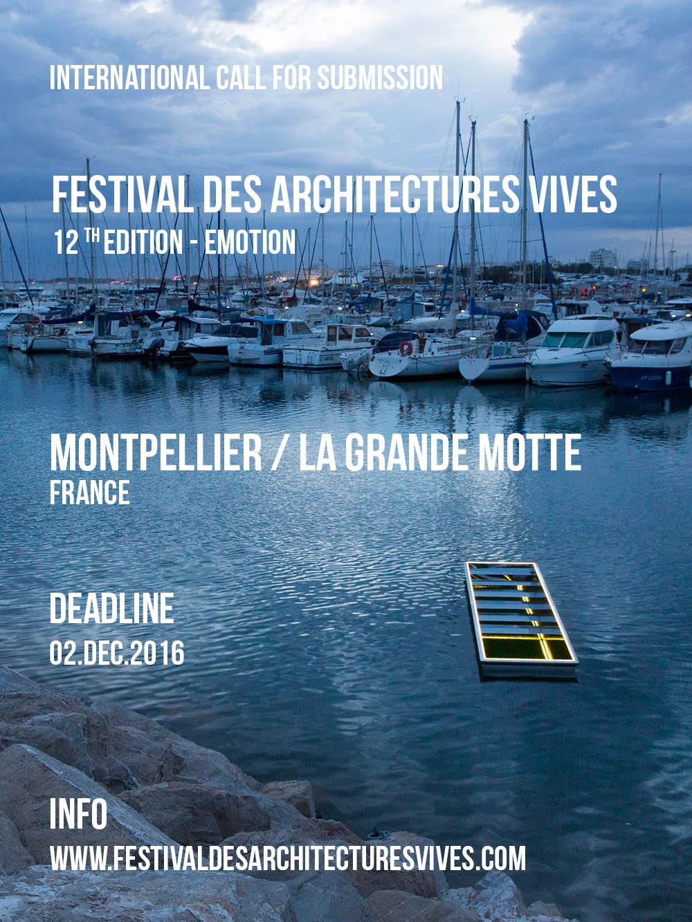 Festival des Architectures Vives 2017
