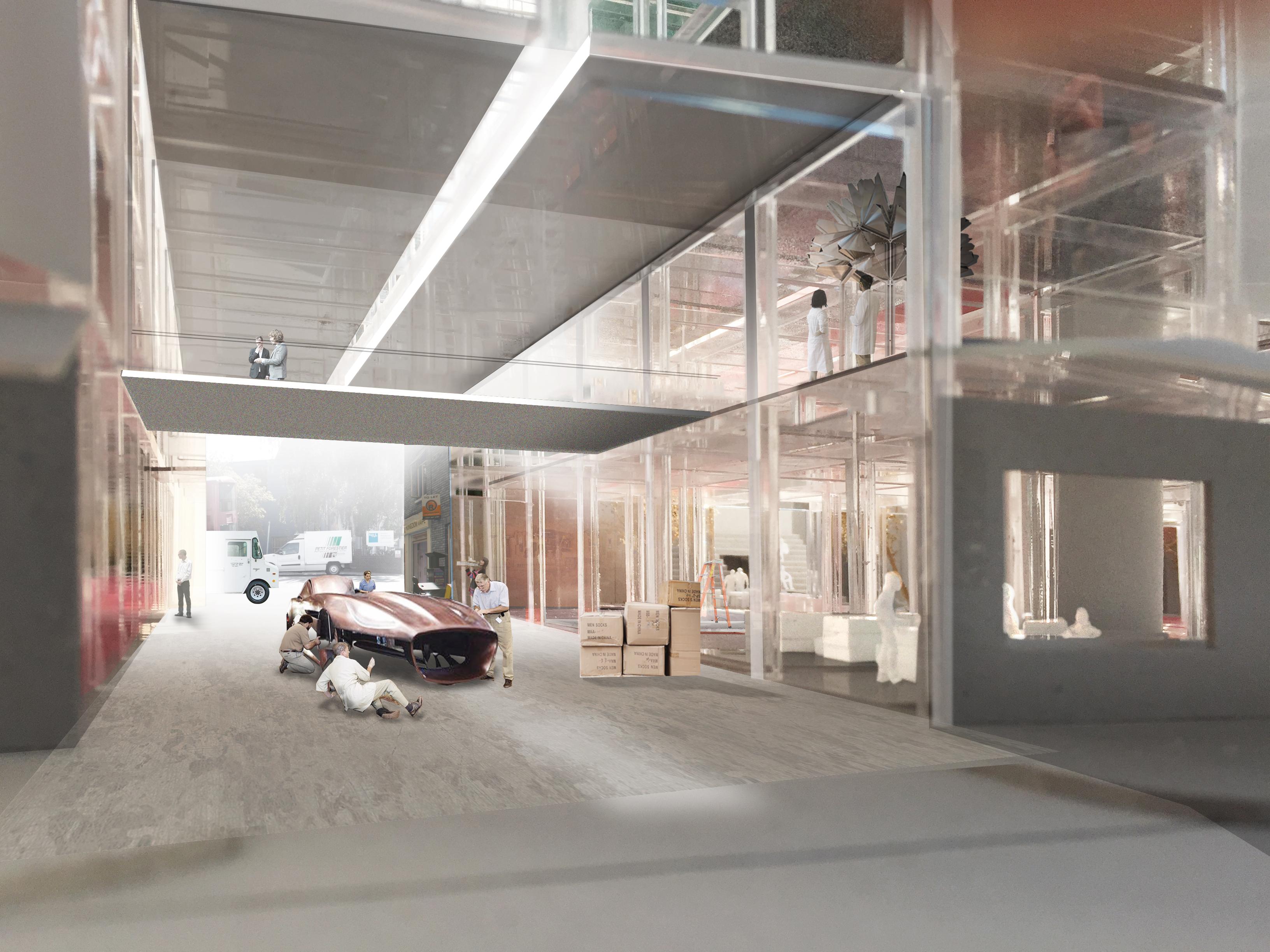 Herzog & de Meuron remportent le concours pour le nouveau campus du Royal College of Art