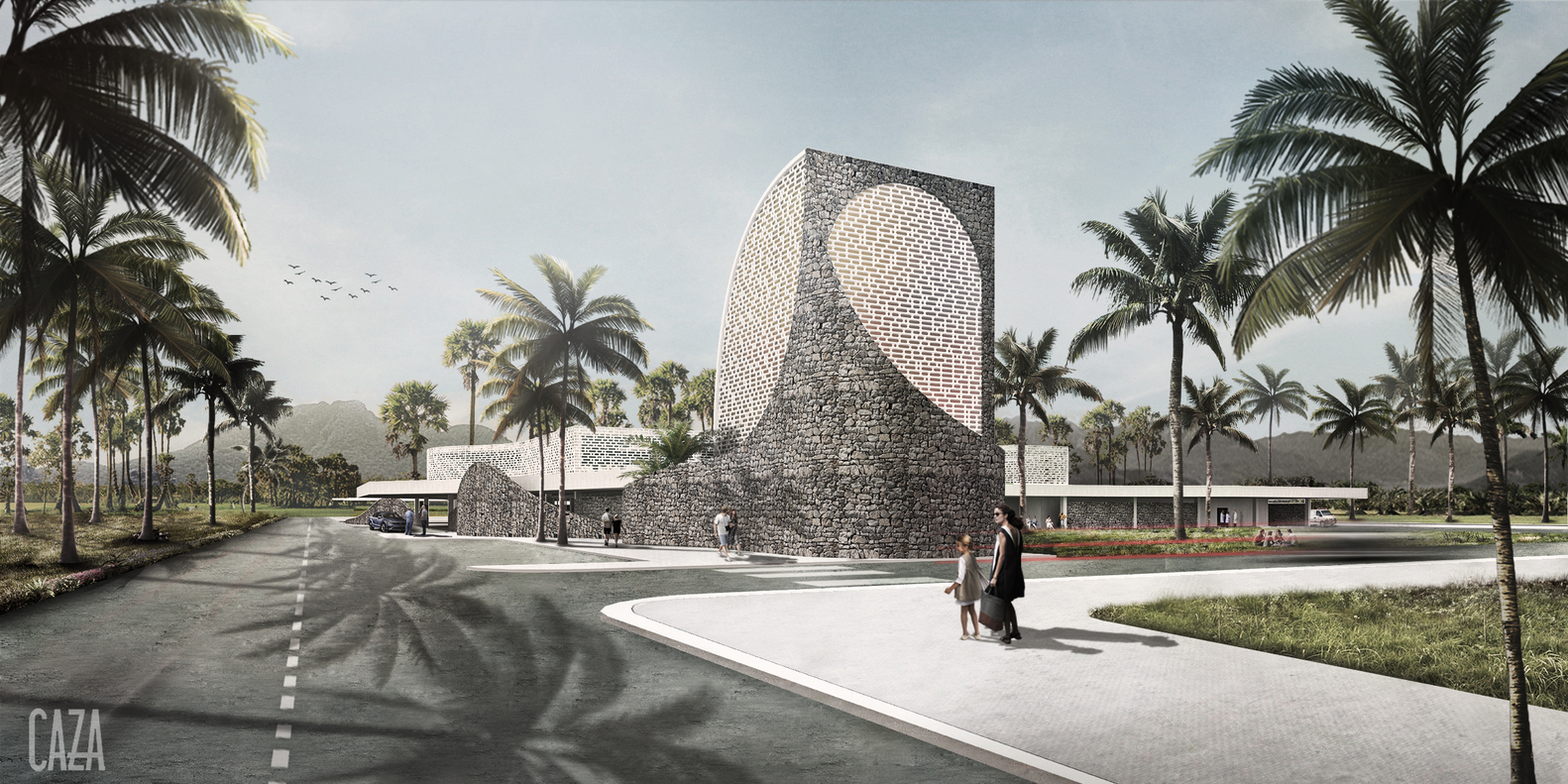CAZA dévoile ses plans pour leur prototype d'hôpital