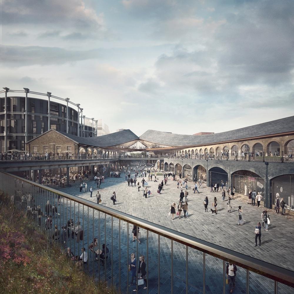 BIG et Heatherwick pour concevoir le nouveau siège de Google à Londres