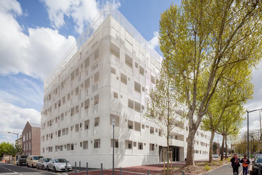 Immobilière 3F, projet de 68 logements sociaux et un foyer d'accueil de 20 chambres pour handicapés