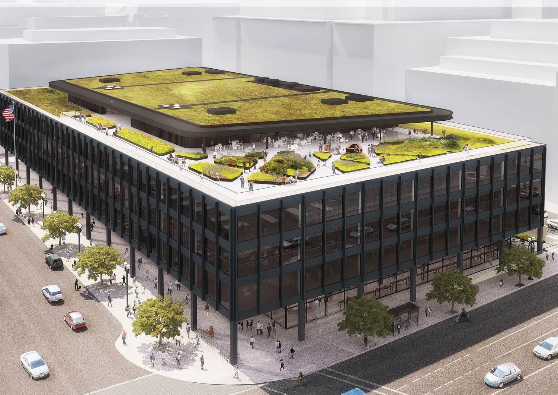 La bibliothèque Martin Luther Jr. King va être transformée.
